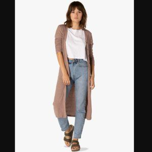 Beyond Yoga Your Line Buttoned Duster